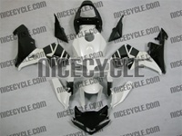 Honda CBR 600RR Pearl White/Black Fairings