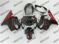 Honda CBR 600 F4 Red Flame Fairings