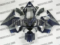 Honda CBR 600 F4i Midnight Blue/Silver Fairings