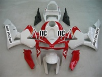 Honda CBR 600RR White/Red Fairings