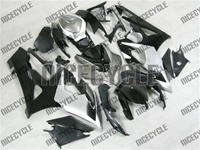 Suzuki GSX-R 1000 Silver/Black Fairings