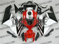 Honda CBR 1000RR OEM Style Red/White Fairings