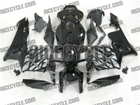 Honda CBR 600RR Silver Tribal on Black Fairings