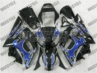 Yamaha YZF-R6 Blue Tribal Fairings