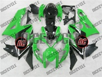 Suzuki GSX-R 1000 Green/Black Fairings