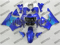 Honda CBR 900RR Fairing Blue on Blue
