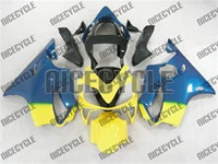 Blue/Yellow Honda CBR 600 F4i Fairings