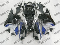 Honda CBR 600RR Black/Blue/Grey Fairings