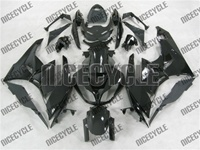 Gloss Black Kawasaki ZX6R Fairings