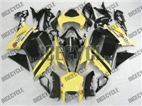 Kawasaki ZX6R Monster-ous Yellow Fairings