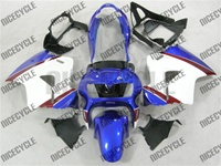 Honda VFR 800 White/Blue Fairings