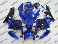 Metallic Blue Honda CBR 600RR Fairings