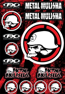 Metal Mulisha Decals