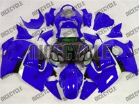 Bright Blue Suzuki GSX-R 1300 Hayabusa Fairings