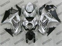 Suzuki GSX-R 1000 White/Silver Fairings