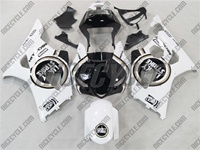 Custom Black Lucky Strike Suzuki GSX-R 1000 Fairings