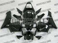 Honda CBR 600RR Solid Black Fairings