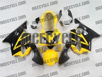 Yellow Honda CBR 600 F4i Fairings