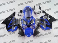 Blue/Black Honda CBR 600 F4i Fairings
