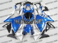 Suzuki GSX-R 1000 Plasma Blue/White Fairings