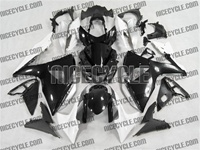 Suzuki GSX-R 1000 Black/White Fairings
