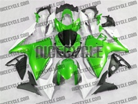 Metallic Green Suzuki GSX-R 1000 Fairings