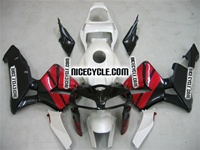Honda CBR 600RR Maroon Red/Black Fairings