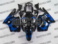 Kawasaki ZX12R Blue Tribal Fairings