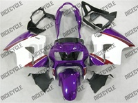Honda VFR 800 White/Purple Fairings