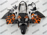 Orange Tribal Honda VFR 800 Fairings