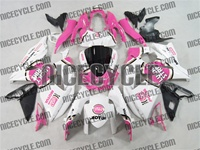 Pink Lucky Strike Suzuki GSX-R 1000 Fairings