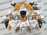 Suzuki GSX-R 1000 Orange Lucky Strike Fairings