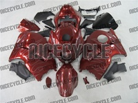 Candy Red Ghost Suzuki GSX-R 1300 Hayabusa Fairings