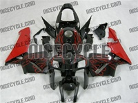 Honda CBR 600RR Red Flame Fairings