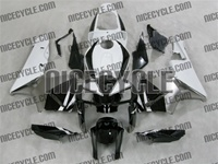 Honda CBR 600RR White/Silver/Black Fairings