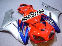 Honda CBR 1000RR Red/Silver/Blue Fairings