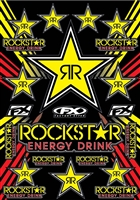 Rockstar Energy Decals