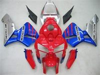 Red/Blue Honda CBR 600RR Fairings