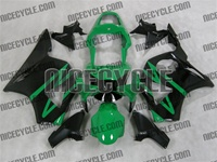 Green/Black Honda CBR 954RR Fairings