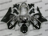 Honda CBR 954RR Titanium/Black Fairings
