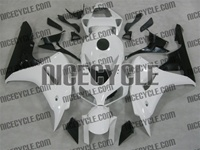 Honda CBR 1000RR White Gloss Fairings