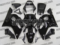 Yamaha YZF-R6 Gloss Black Fairings