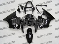 Kawasaki ZX6R Gloss Black Fairings