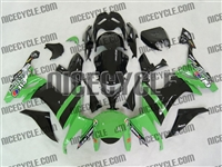 Kawasaki ZX10R Monster Green/Black Fairings