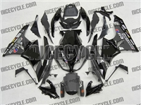 Kawasaki ZX6R Grey/Black Monster-ous Fairings