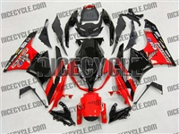 Red/Black Monster-ous Kawasaki ZX6R Fairings