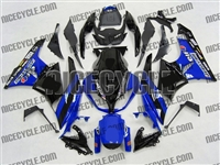 Blue/Black Monster-ous Kawasaki ZX6R Fairings