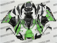 Green/Black Monster-ous Kawasaki ZX6R Fairings
