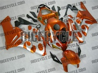 Honda CBR 1000RR Metallic Orange Tribal Fairings