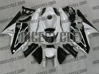 Yamaha YZF-600R White/Black Fairings